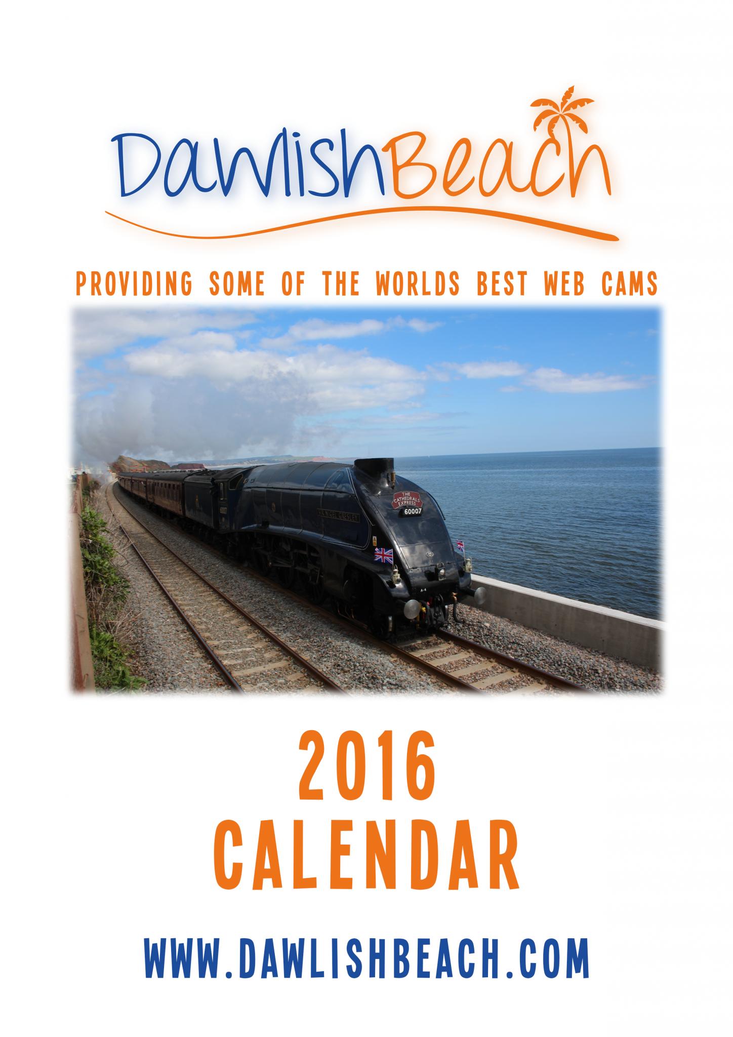 Dawlish Beach Calendar 2016