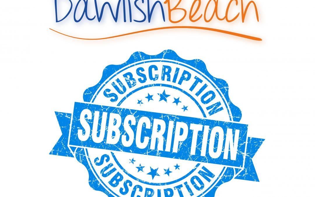 Dawlish Beach Subscription