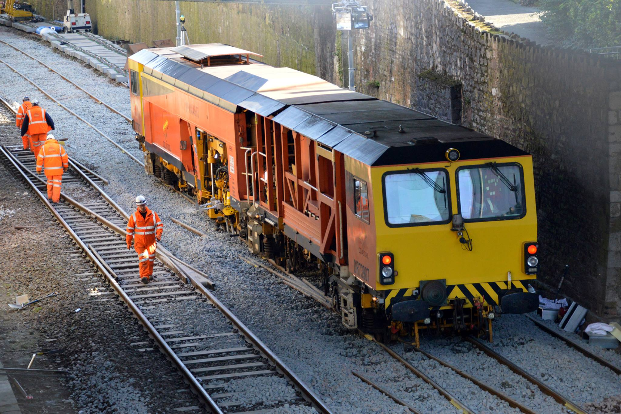Plymouth Herald – Pictures show why Plymouth's rail link is being cut off for two weekends