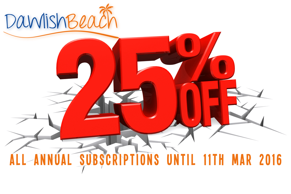 25% Off all Subscriptions