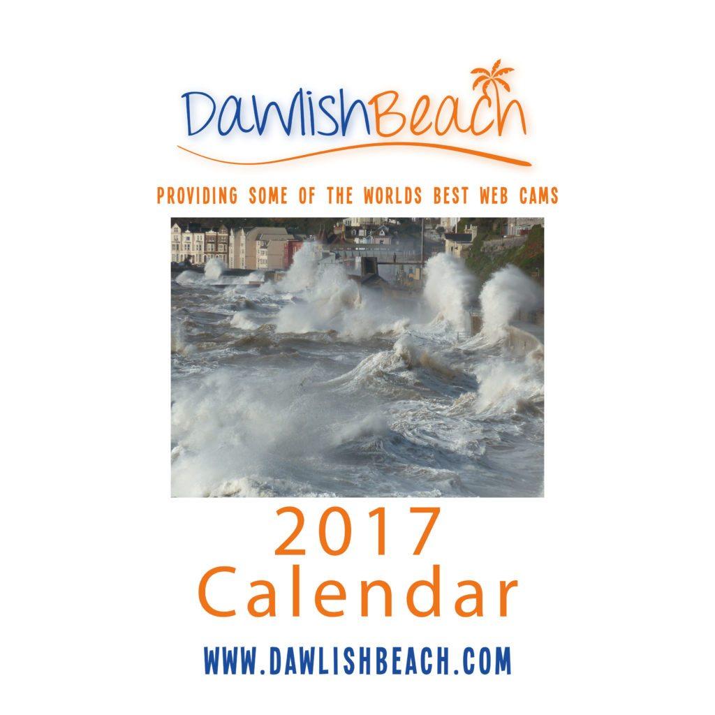 Dawlish Beach Calendar 2017