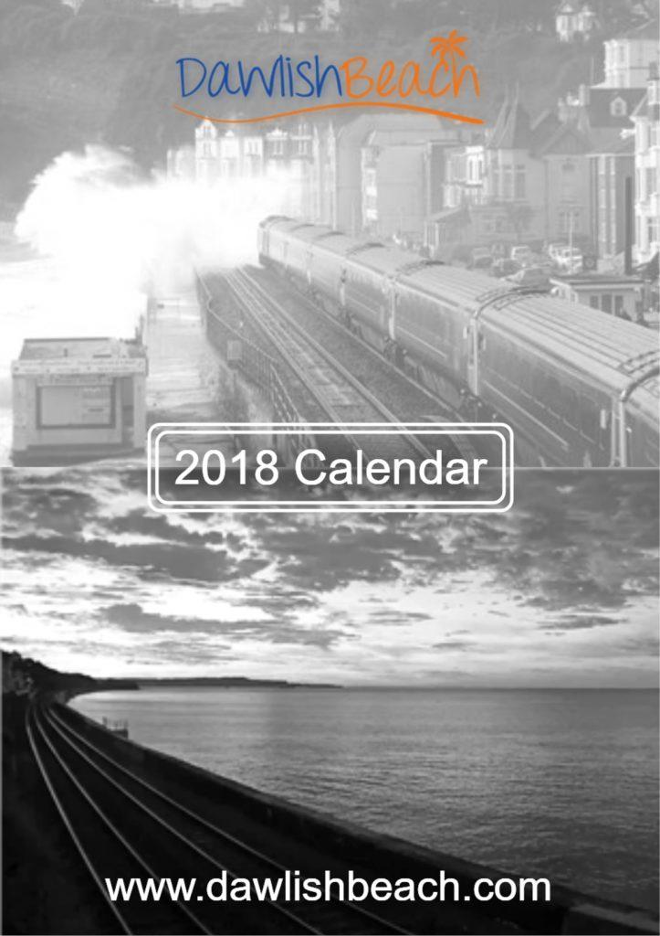 Dawlish Beach 2018 Calendar
