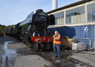 Colin at Laira Depot