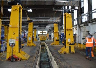 HST Jacks at Laira Depot