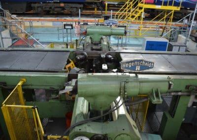 Wheel Lathe at Laira Depot