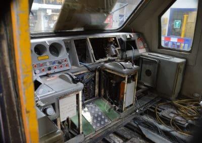 HST cab at Laira Depot