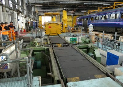 The Mule and Wheel Lathe at Laira Depot