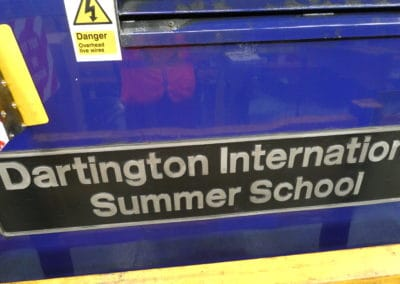 Dartington International Summer School at Laira Depot