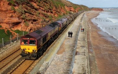 Loco hauled freight and Infrastructure trains.