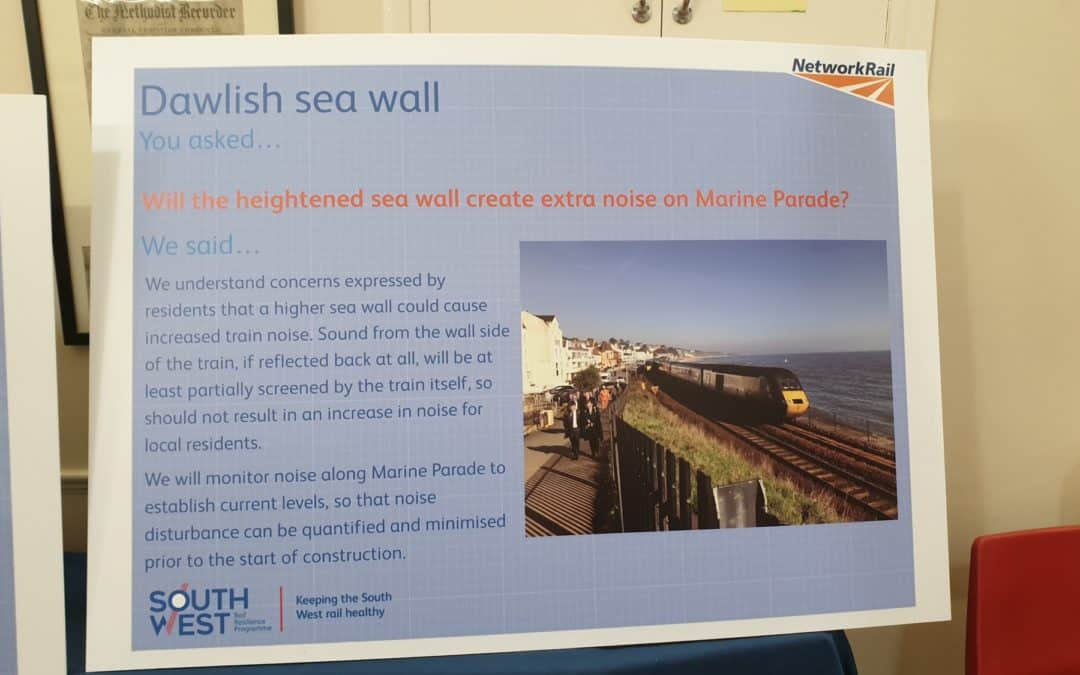 Sea Wall update