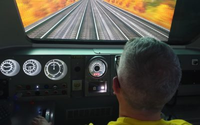 Neil has a SPAD while driving a HST!