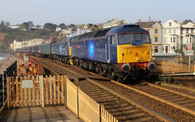 Half an hour on Dawlish station 18th April 2019