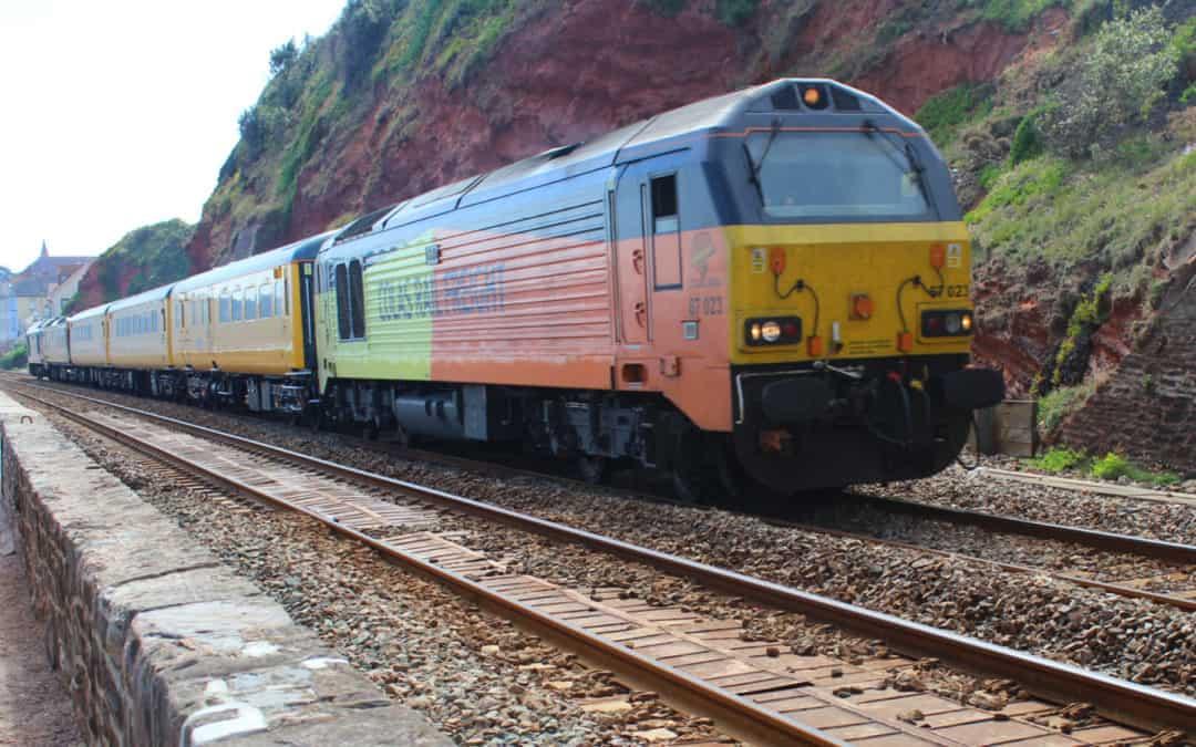 Colas Network Rail Measurement train