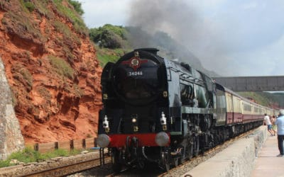 English Riviera Express July 7th 2019  34046 Braunton
