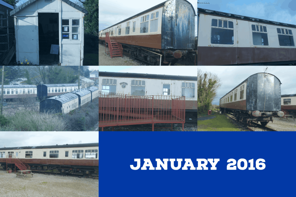 Dawlish Warren railway carriages holiday park