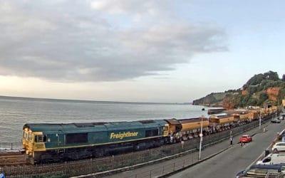 High Output Track Renewals train