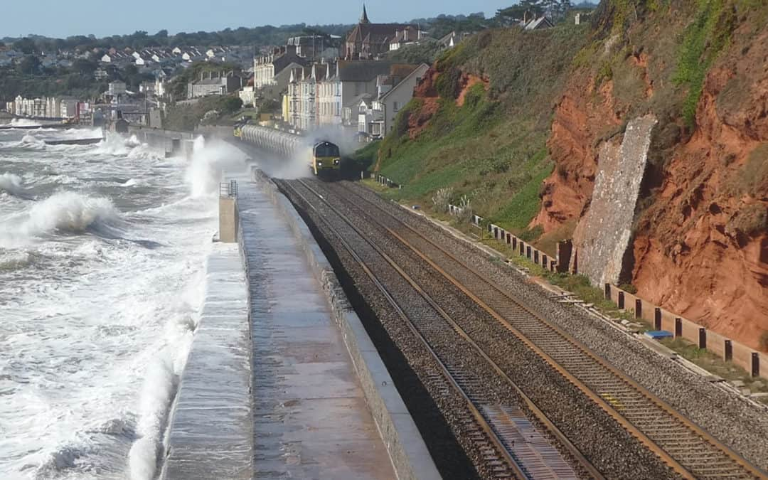 Stormy Seas with Train and People wash!