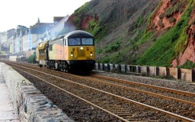 Colas 56049 Robin of Templecombe on Railvac movement.