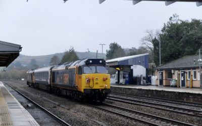 GBRf Class 50's Stock moves 22nd & 23rd January 2020