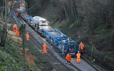 Rail Replacement Teignmouth 26-01-2020