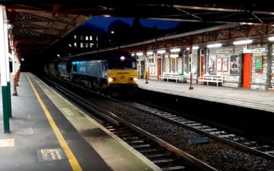 Recent loco hauled Freight and Infrastructure trains. January 4-10th Jan 2020