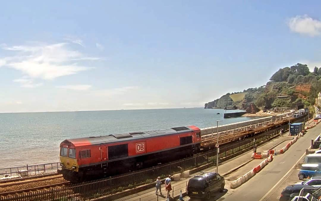 Weekend Infrastructure trains to Cornwall