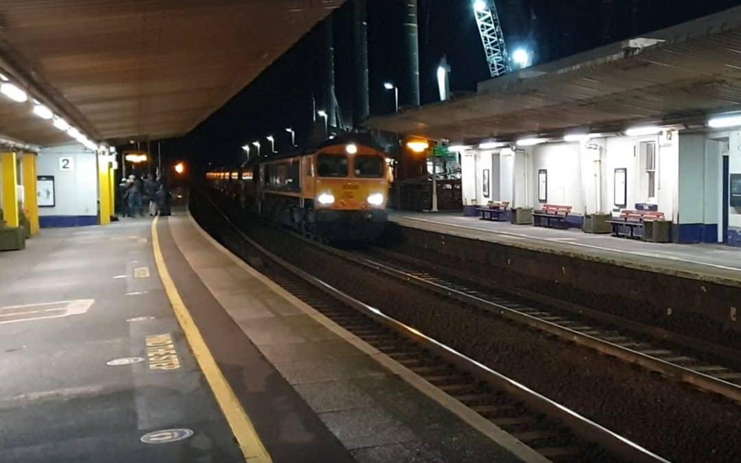 Gunnislake branchline Infrastructure train