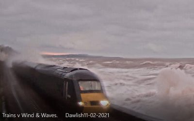 Trains v Wind & Waves Dawlish 11th February 2021