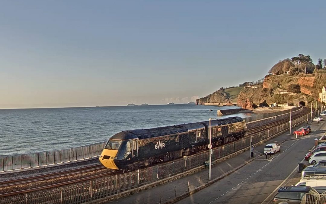 Railway interest at Dawlish April 14/15th 2021