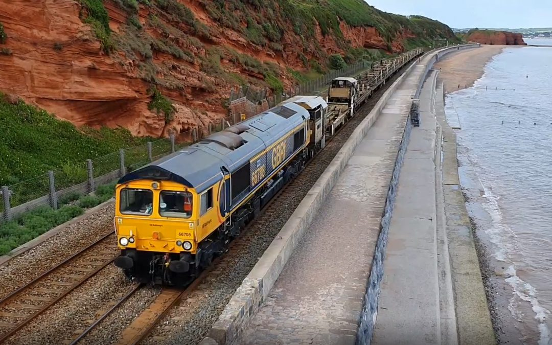 National Rail Infrastructure trains