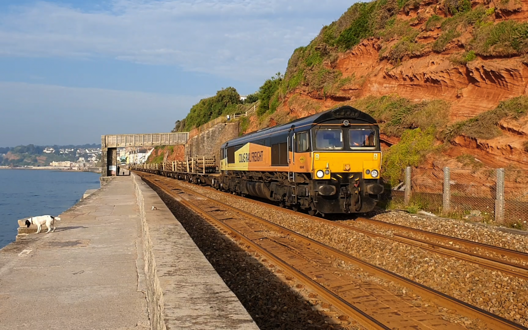GBRf/Colas CWR rail drop to Cornwall July 21/22nd 2021