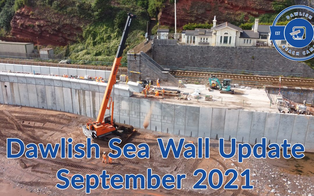 Dawlish Sea Wall Phase Two Update September 2021 with Jack from Bam Nuttall