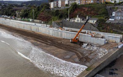 The New Dawlish Sea Wall Build Tour